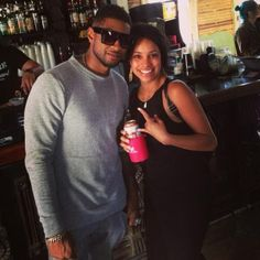 Usher Girlfriend Grace Miguel | OUT AND ABOUT: Usher Takes His Girlfriend Grace Miguel To SXSW (Photos ...