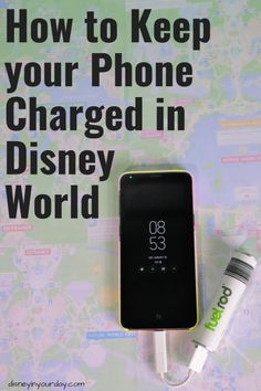 If you're looking for an easy way to make sure your phone is always charged in Disney World Fuel Rod offers a great way to keep your battery life alive! Disney World Tickets, Disney World Florida, Disney World Parks, Disney World Planning, Walt Disney World Vacations, Disney Day, Disney Cruise Line, Disney Stuff, Disney World Tips And Tricks