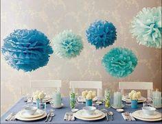 Como hacerlas Pompones de colores   Decorar tu casa es facilisimo.com