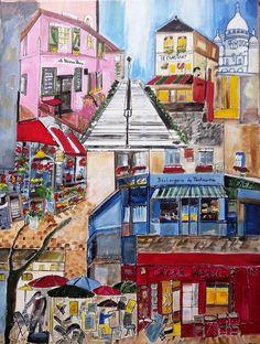 Montmartre   KunstiX