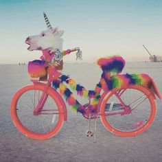 unicorn bike  @fashion_bilbao Instagram webviewer