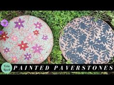 Painted Pavestone for Garden Decor | Hometalk