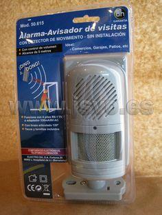 Alarma - Avisador de visitas Electro dh Mod.: 50.615 www.jsvo.es