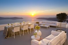 Celebrations at Grace Santorini.