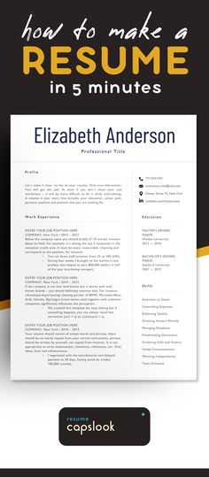 Minimalist Resume Template - Cv Template 3 Page Resume Engineer