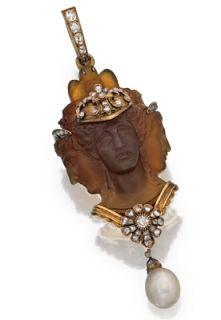 Marie Poutine's Jewels & Royals: Cameos, Portraits, Micro Mosaics, Etc