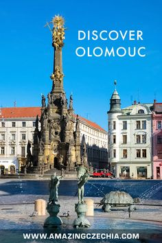 The Magnificent City of Olomouc in Moravia - Amazing Czechia Walter Mitty, World Heritage Sites, Czech Republic, Wonderful Places, Big Ben, Travel Destinations, Wanderlust, Europe, Indian