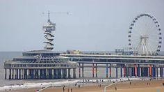 Webcam Küste von Scheveningen - Den Haag - Niederlande Live Cam