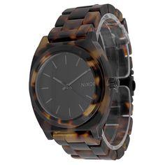 948507a6355 Relógio Nixon The Time Teller Acetate Marrom - O mais lindo de todos! Uma  Peça