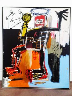 Jean-Michel Basquiat at Gagosian NYC.  one of my favorite artists.