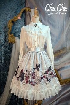 _shared by janejane4318@hotmail.com_NyaNya Lolita -Love and Death- Lolita Skirt
