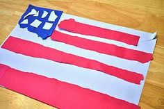 Simple 4th of July craft