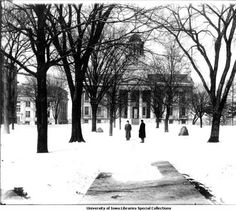 Old Capitol, The University of Iowa, 1912 :: Iowa City Town and Campus Scenes