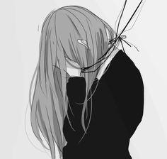 Anime Girls Sad
