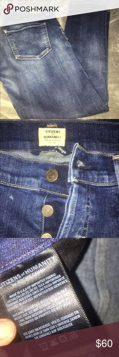 Citizens of Humanity size 27 jean NWOT Emerson Boyfriend cut by Citizens of Humanity size 27 distressed but no holes!! Button fly extreme comfort NWOT Citizens of Humanity Jeans Boyfriend