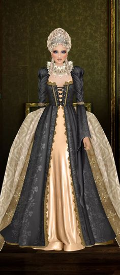 Fantasy Figures, Barbie Gowns, Normandy, Covet Fashion, Victorian Era, Knights, Queens, Royalty, Costumes