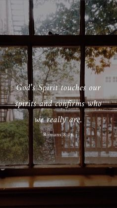 Romans 8:16 #bible #godsword #identity