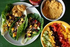Becoming Alice: Raw Vegan Tacos + DIY Curry Hummus