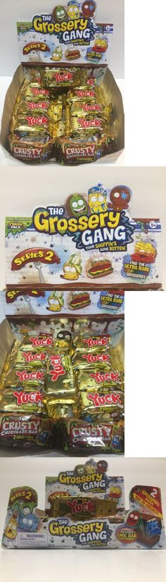 Other TV Movie Character Toys 2622: The Grossery Gang Series 2 Yuck Bar (X9) Packs - Plus 2 Bonus Crusty Chocolate -> BUY IT NOW ONLY: $30.99 on eBay!