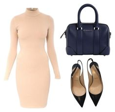 """""""#123"""" by verdant101 ❤ liked on Polyvore featuring Givenchy and Christian Louboutin"""