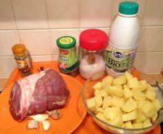 Filet de porc vapeur, pommes de terre fondantes au lait WW (Thermomix)