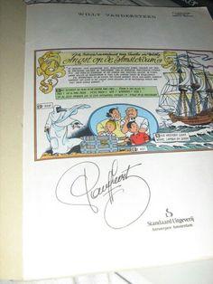 Handtekening van Paul Geerts