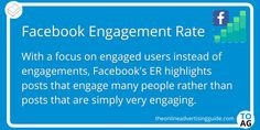 Facebook doesn't calculate Engagement Rate in the same way as other social networks. Their focus is on broad appeal, rather than posts being intensely interesting to some. Learn more about their unique measure, how to calculate and where to find the metrics for it (as Facebook keeps them well hidden). #Facebook | #DigitalMarketing | #SMM