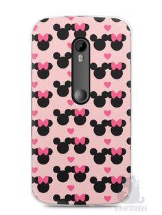 Capa Moto G3 Mickey e Minnie - SmartCases - Acessórios para celulares e tablets :)