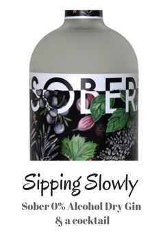 Today we try Ginifer Sober Alcohol Gin and make a pretty mocktail with some flavoured water and fruit. Dry Gin, Fiji Water Bottle, Cocktails, Drinks, Sober, Whisky, Bubbles, Alcohol, Fruit
