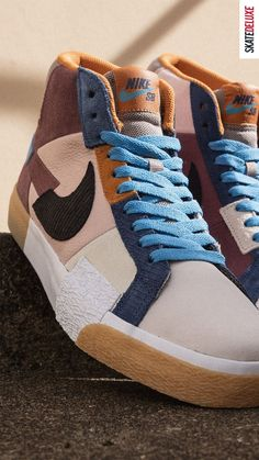 Shop the latest colorway of the Nike SB Blazer Mosaic!