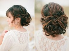 thick hair updo by disney0596