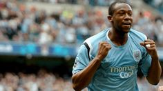 Paulo Wanchope, hits a hat-trick for  Manchester City against Sunderland on23rd August 2000.