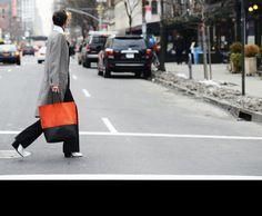 She Wears Celine: Bicolour Cabas Tote
