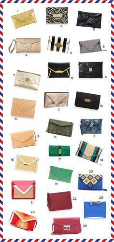 25 Inspiring clutches - www.daretodiy.com