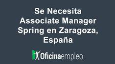 Se Necesita Associate Manager Spring en Zaragoza España  #Empleo #Trabajo #Zaragoza #España #AssociateManagerSpring #GrupoAdecco #SpringProfessional #Búsqueda #Selección #EvaluacióndeEjecutivos #RecursosHumanos #TrabajoenEquipo #GPTW #Gestión. . Empleo Trabajo Zaragoza España Associate Manager Spring Grupo Adecco Spring Professional Búsqueda Selección Evaluación de Ejecutivos Recursos Humanos Trabajo en Equipo GPTW Gestión. Oficina empleo. . Zaragoza. . Recursos Humanos . . Associate manager… Spring, Management, Zaragoza, Reaching Goals, Human Resources, Teamwork