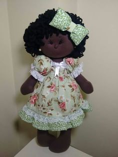 Homemade Dolls, Homemade Crafts, Doll Crafts, Diy Doll, Child Doll, Baby Dolls, Dolls Dolls, African Figurines, Rag Doll Tutorial