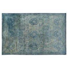 Check out this item at One Kings Lane! Vialas Rug, Green/Blue