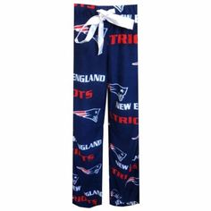 New England Patriots Womens Facade Pajama Pants