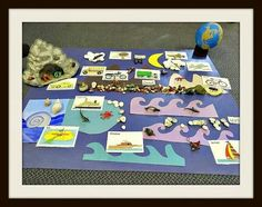 Tool learning for learn land air and water  http://inspiredmontessori.blogspot.com/2014/08/land-air-and-water-montessorireggio.html?m=1