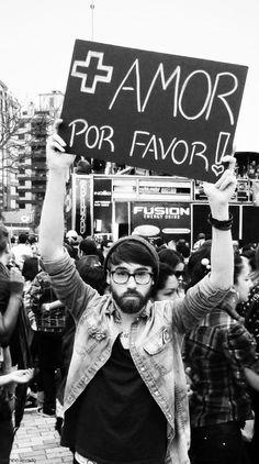 + amor por favor!