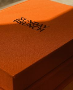 Packaging design | Sunday Brunch Box