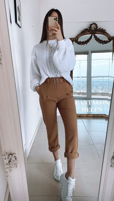 Trendy Fall Outfits, Casual Work Outfits, Pretty Outfits, Chic Outfits, Fashion Outfits, Fashion Mode, Look Fashion, Minimal Fashion, Look Chic