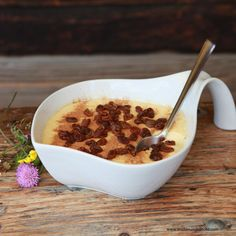 Oaweible » Kochrezepte von Kochen & Küche Cereal, Pudding, Breakfast, Sweet, Desserts, Food, Recipes With Eggs, Easy Meals, Chef Recipes