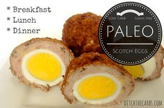 Easy Paleo Scotch Eggs with ZERO carbs