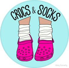 Crocs and Socks by Abby Connelly