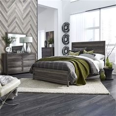 Tanners Creek Panel Bed 4 Piece Youth Bedroom Set in Greystone Finish by Liberty Furniture - Bedroom Furniture Sets, Living Furniture, Furniture Sale, Two Bedroom, Bedroom Sets, Bedrooms, Liberty Furniture, Dresser With Mirror, Panel Bed