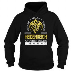 Awesome Tee HEIDENREICH Legend - HEIDENREICH Last Name, Surname T-Shirt T shirts