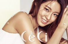 'CeCi' released more photos for Seolhyun's photoshoot!She worked with 'ACUVUE Define' for this photoshoot, trying on brown and gray color contacts. Fnc Entertainment, Korean Entertainment, Kwon Mina, Kim Seol Hyun, Seolhyun, Korean Makeup, Korean Singer, Brown And Grey, Girl Group