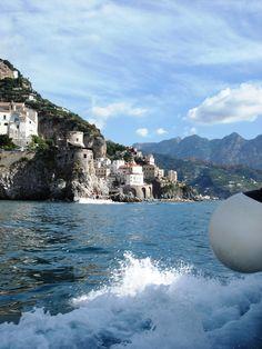 Boat trip along the Amalfi coast