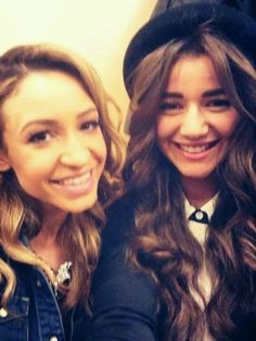 Danielle and Eleanor :) I miss Danielle so much :( no hate to Sophia though.